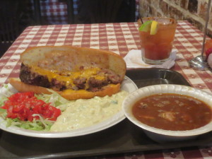 Lunch at K-Paul's Restaurant